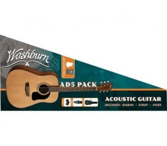 WASHBURN D5 PACK NAT